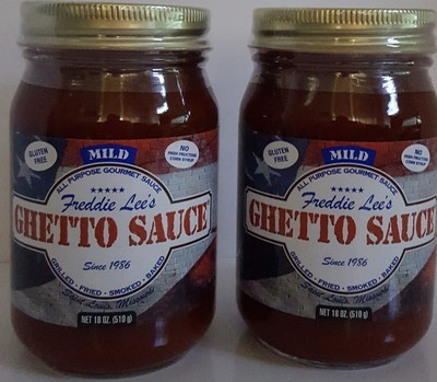 Freddie Lee's Gourmet Sauces Mild Case 12 Pint Jars per case