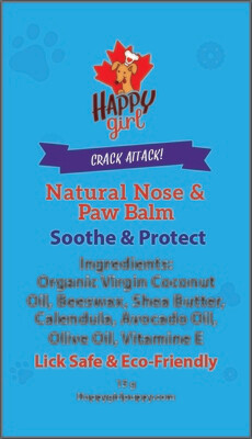 Crack Attack Natural Nose & Paw Balm - Small Size