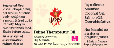Feline Therapeutic Oil