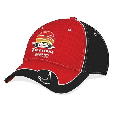 FGP Hat - Red/Black