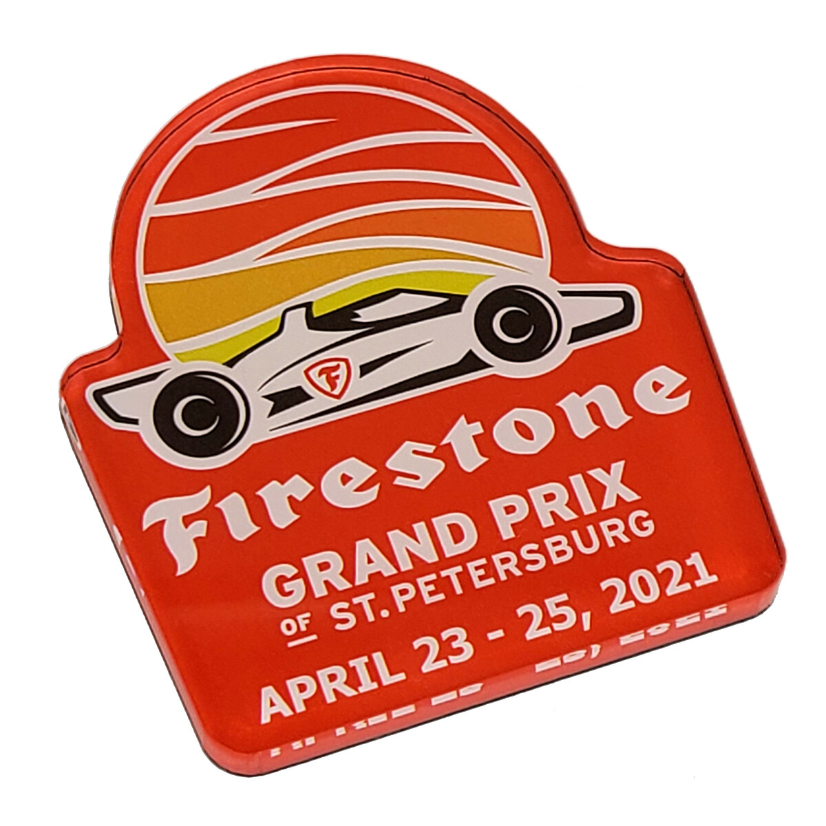 Firedstone magnet of St. Pete