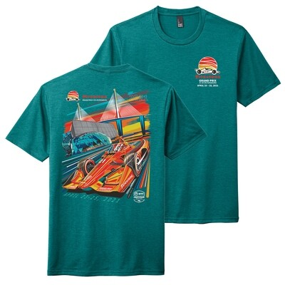 FGP Poster Tee-Teal