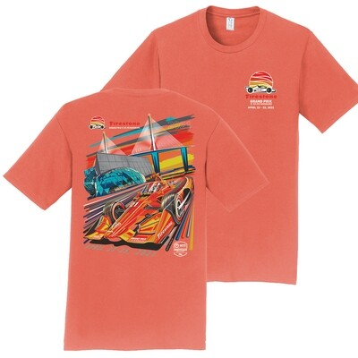 FGP Poster Tee-Coral