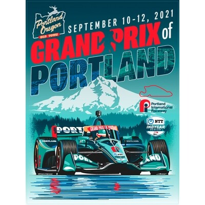 2021 Portland GP Poster