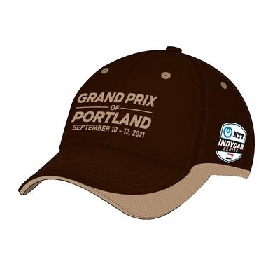 2021 GP Portland Hat-Brown/Khaki
