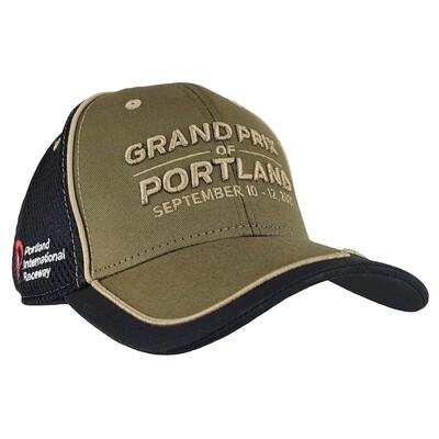 2021 GP Portland Hat-Olive/Black