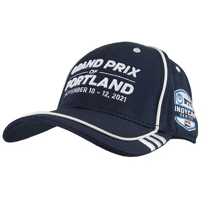 2021 GP Portland Car Hat-Navy/White