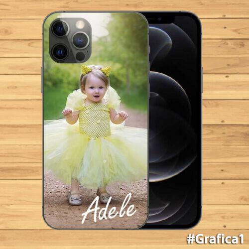 Cover TPU per smartphone cellulare Personalizzata con la TUA FOTO e TUO NOME