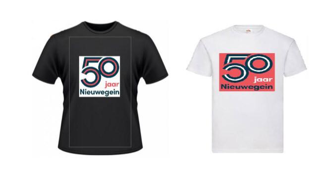 T-Shirt Nieuwegein 50 jaar