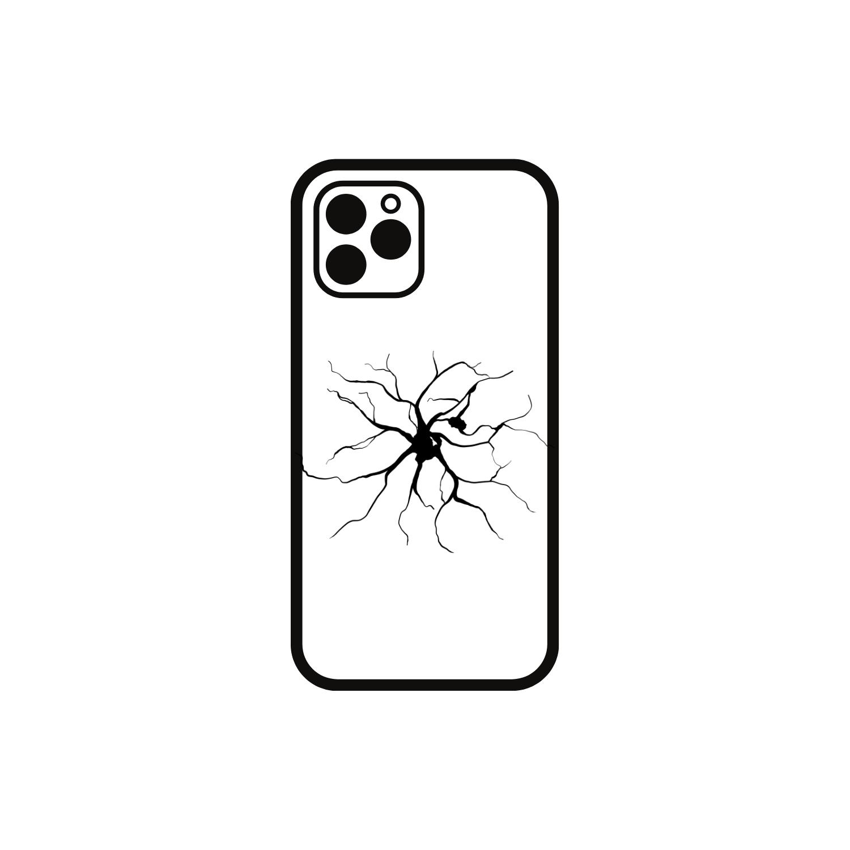 iPhone X Backcover Glas Reparatur