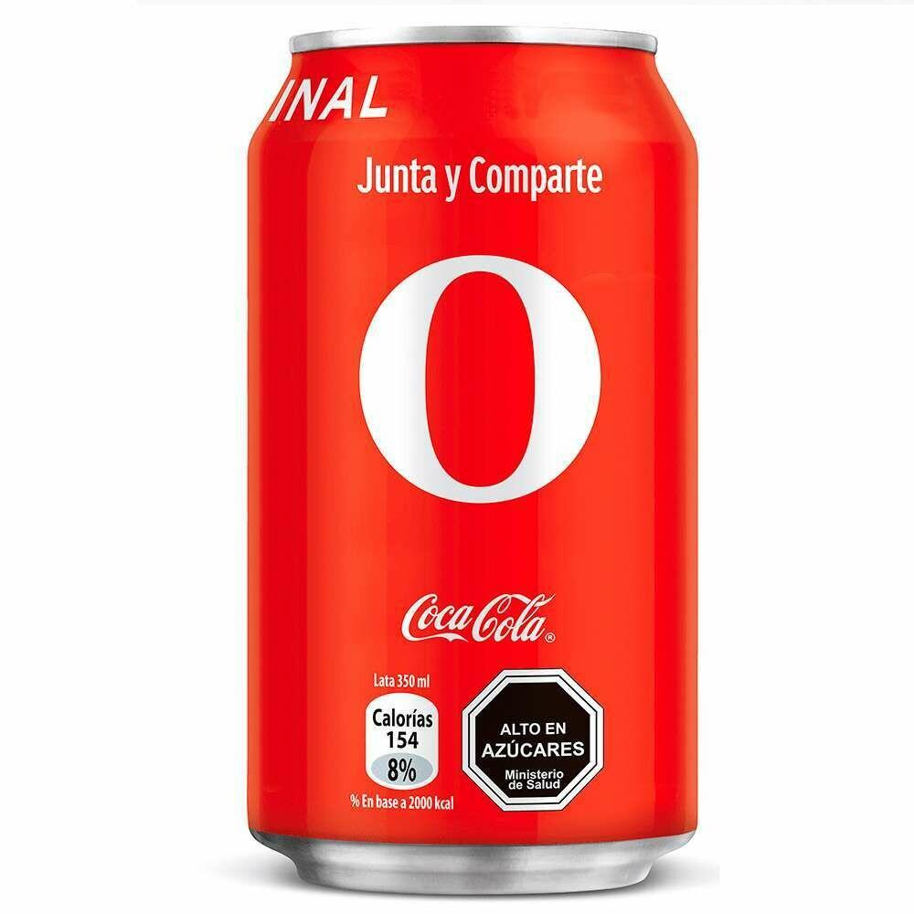 Coca Cola Original lata 350Ml
