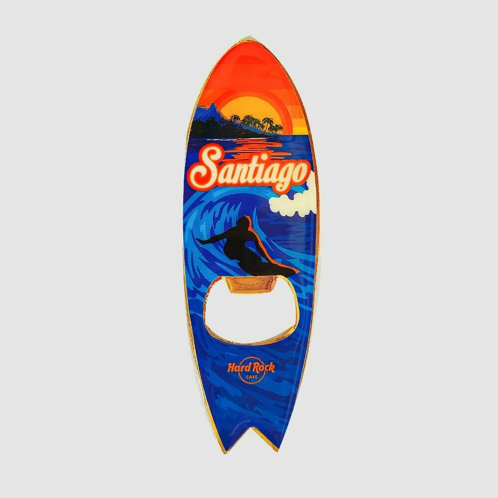 Surf Sunset Magnet