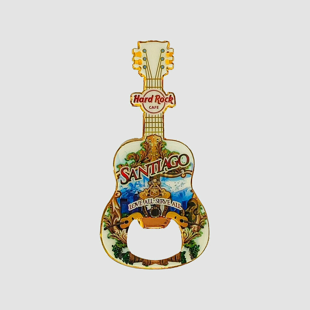 City Guitar Magnet