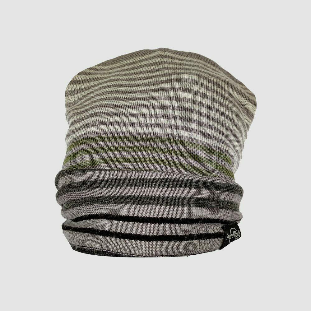 Striped Reversible Beanie