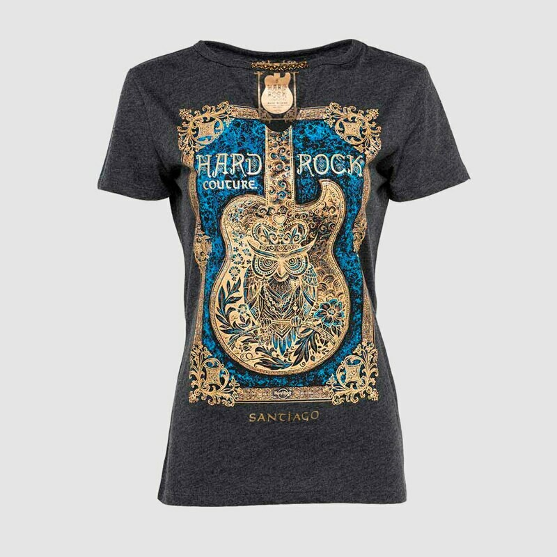 Lds Couture Framed Guitar Tee