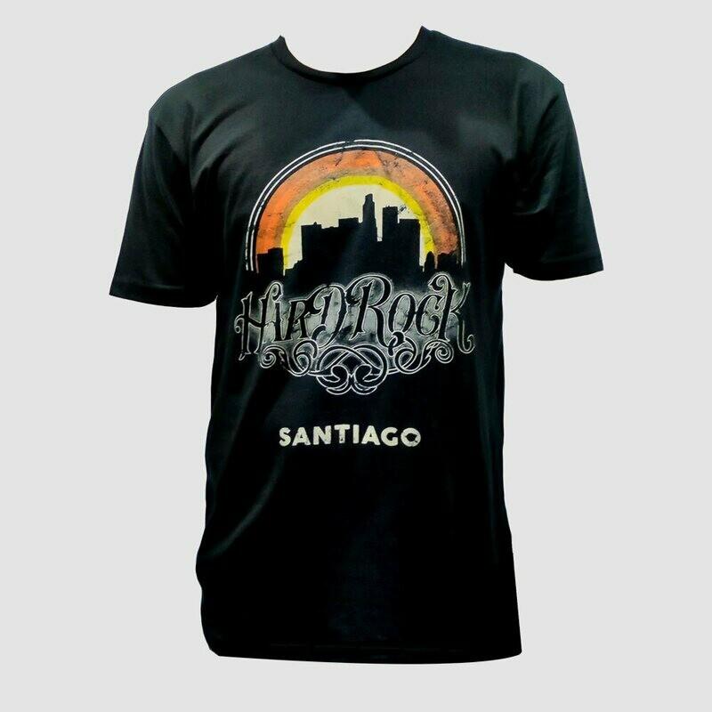 Mens Retro City Vintage Black