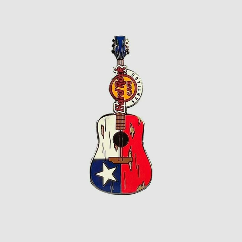 Ripped Guitar Acoustic Pin