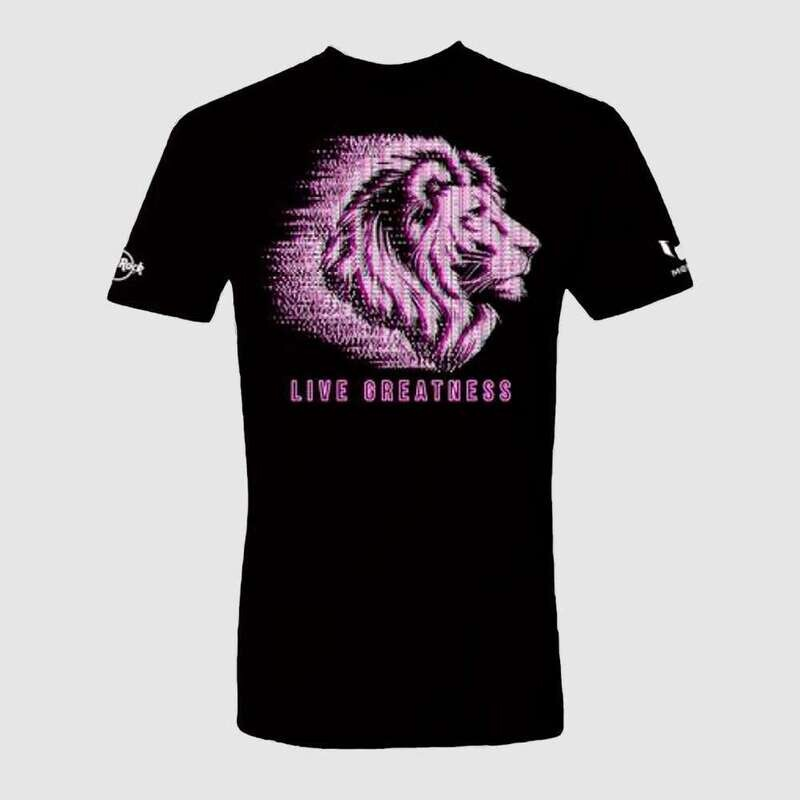 Unisex Messi Live Greatness Lion Tee
