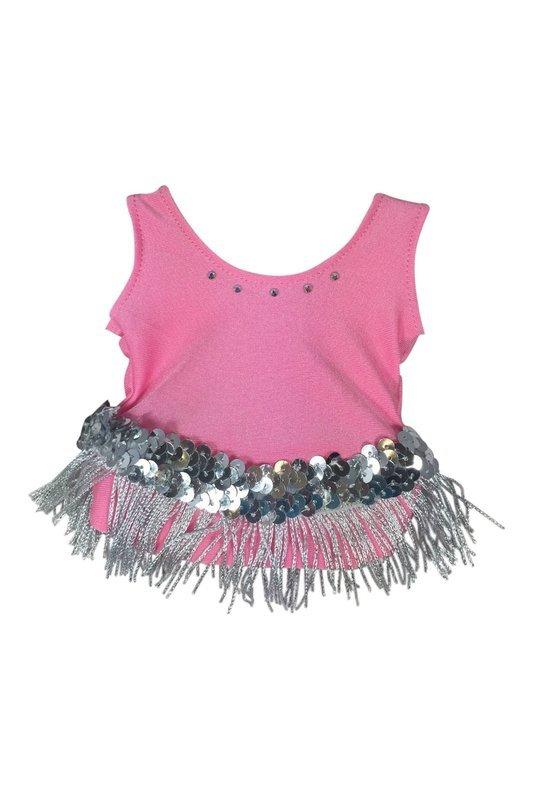 Baton Pink Solo Costume