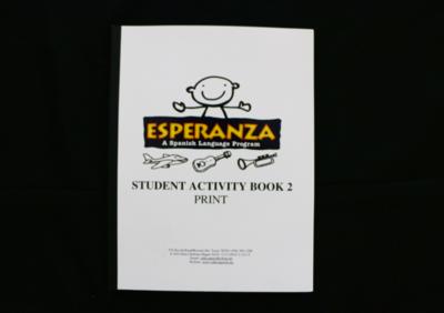 Esperanza Student Activity Book 2 PRINT