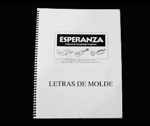 Print Writing Workbook (Letras de Molde)