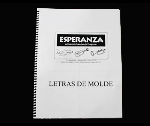 Print Writing Workbook (Letras de Molde)