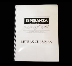 Cursive Writing Workbook (Letras Cursivas)