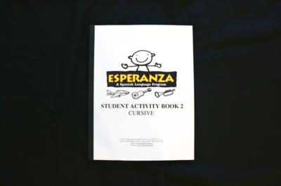 Esperanza Student Activity Book 2 CURSIVE