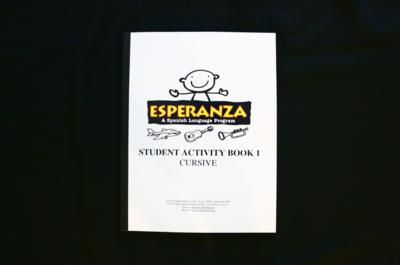 Esperanza Student Activity Book 1 CURSIVE