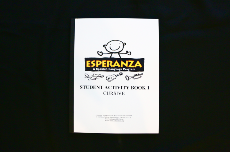 Esperanza Student Activity Book 1 CURSIVE