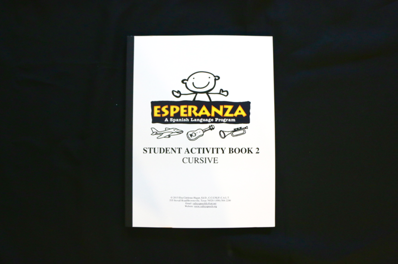 Esperanza Student Activity Book 2 CURSIVE