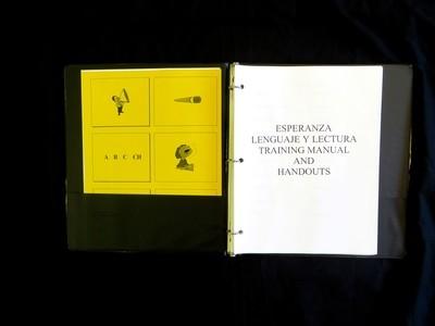 Lenguaje y Lectura Training Manual