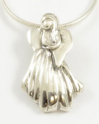 Melissa 2014 Silver Angel Pendant