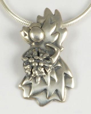 Louisa 2009 Silver Angel Pendant