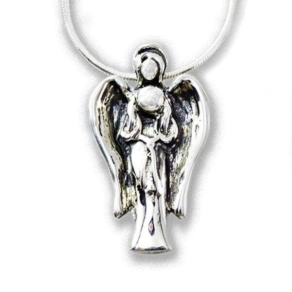 Serenity 2019 Silver Angel Pendant