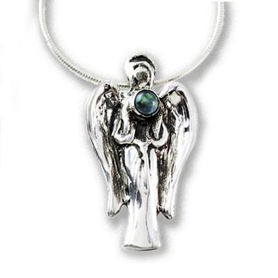 Serenity 2019 Gemstone Angel with Opal