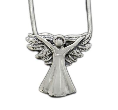 Gabrielle 2018 Silver Angel Pendant