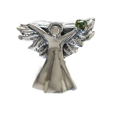 Gabrielle 2018 Gemstone Angel with Moldavite