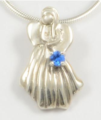 Melissa 2014 Gemstone Angel with Blue Topaz