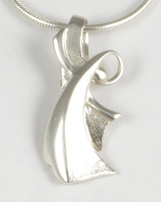 Chloe 2013 Silver Angel Pendant