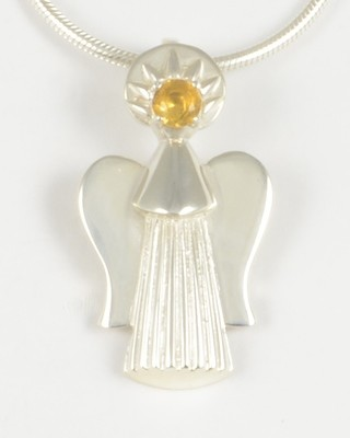Grace 2002 Gemstone Angel with Citrine