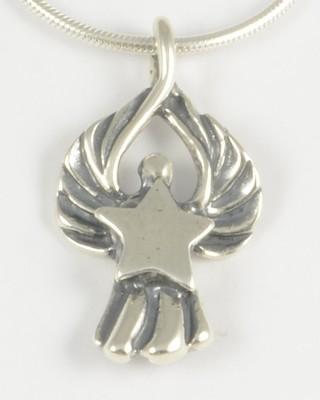 Stella 1998 Silver Angel Pendant