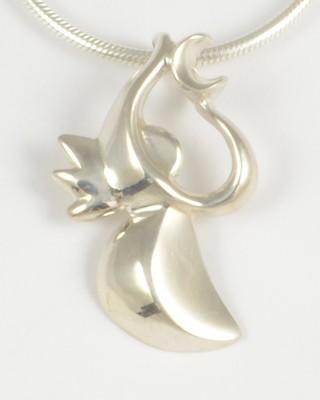Celeste 2007 Silver Angel Pendant