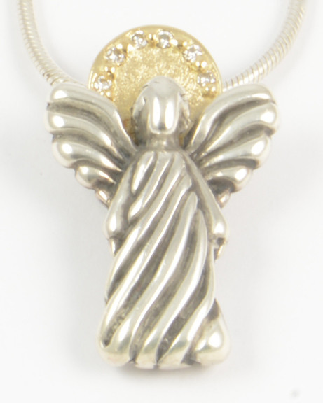 Maria Millennium Limited Gold and Diamond Angel