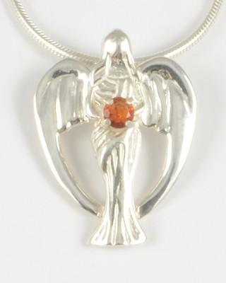 Michelle 2012 Gemstone Angel with Fire Citrine