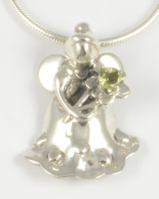 Ella 2006 Gemstone Angel with a Peridot