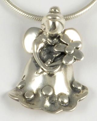 Ella 2006 Silver Angel Pendant