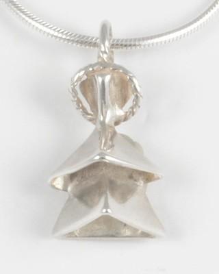 Anne 1994 Silver Angel Pendant
