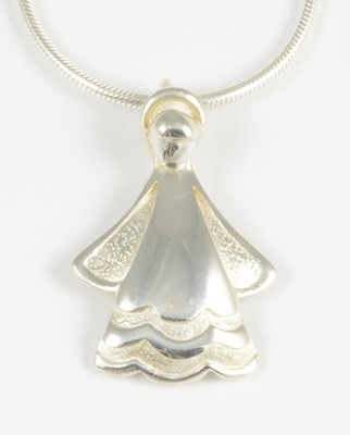 Emily 2001 Silver Angel Pendant
