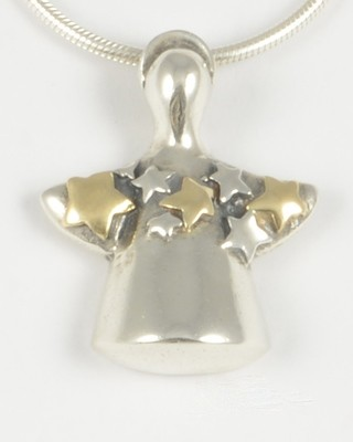 Sophie 2004 Angel with 14k Gold Stars